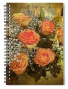 Roses From Judy Spiral Notebook