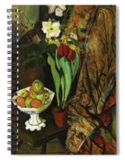 Roses In A Vase Spiral Notebook