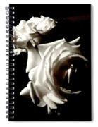 Roses In Moonlight 8 Spiral Notebook