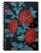 Roses In The Classic Style Spiral Notebook