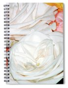Roses Multi Color Spiral Notebook