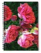 Roses Roses Spiral Notebook