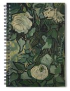 Roses Saint Remy De Provence  May-june 1889 Vincent Van Gogh  1853  1890 Spiral Notebook