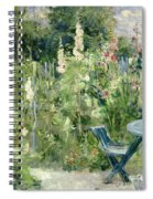 Roses Tremieres Spiral Notebook