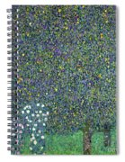 Roses Under The Trees Spiral Notebook