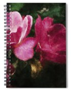 Roses With Texture Spiral Notebook