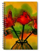 Rosey Afternoon Spiral Notebook