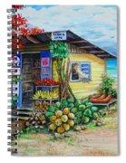 Rosies Beach Cafe Spiral Notebook