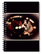 Rosses On A Flowing Dish Spiral Notebook