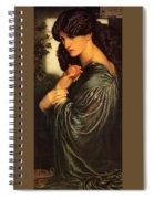 Rossetti Dante Gabriel - Proserpine End Dante Gabriel Rossetti Spiral Notebook