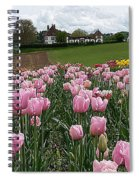 Rosy Field Spiral Notebook