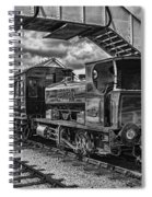 Rosyth No 1 At Furnace Sidings Mono Spiral Notebook