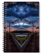 Magic Mirror Spiral Notebook