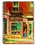 Rothchilds Jewellers On Park Avenue Spiral Notebook