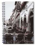 Rothenburg Cafe - Digital Spiral Notebook
