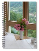 Rothenburg Dining With A View Spiral Notebook
