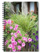 Rothenburg Flower Box Spiral Notebook