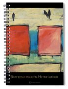 Rothko Meets Hitchcock - Poster Spiral Notebook