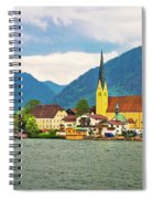 Rottach Egern On Tegernsee Architecture And Nature View Spiral Notebook