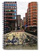 Rotterdam Architecture Spiral Notebook