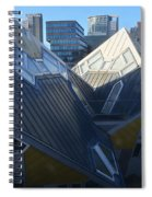Rotterdam - The Cube Houses And Skyline Spiral Notebook