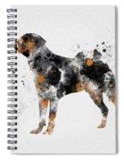 Rottweiler Spiral Notebook