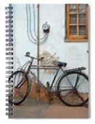 Rough Bike Spiral Notebook