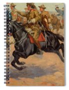 Rough Riders Cavalry Spiral Notebook