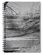 Rough Steps Up The Riverbank Spiral Notebook