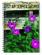 Roughin It Love Spiral Notebook