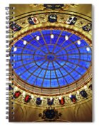 Round And Glossy Spiral Notebook