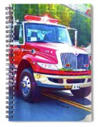 Round Top Vol. Fire Co. Inc. New York 6 Spiral Notebook
