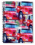 Round Top Vol. Fire Co. Inc. New York 8 Spiral Notebook