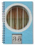 Round Window Spiral Notebook