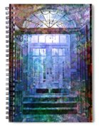 Rounded Doors Spiral Notebook