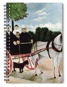 Rousseau: Cart, 1908 Spiral Notebook