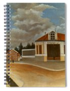 Rousseau: Factory, C1897 Spiral Notebook