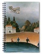 Rousseau: Fishermen, 1908 Spiral Notebook