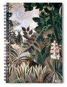 Rousseau: Jungle, 1909 Spiral Notebook