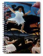 Rousseau: War, 1894 Spiral Notebook