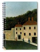 Rousseau:promenaders,c1907 Spiral Notebook