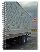 Route 66 - Dixie Truck Stop Spiral Notebook