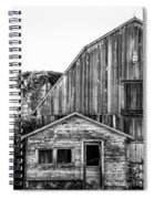 Route 66 Barn 1 Spiral Notebook