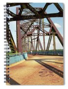 Route 66 - Chain Of Rocks Bridge Spiral Notebook