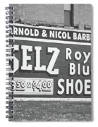 Route 66 - Chenoa Illinois Mural Spiral Notebook