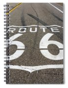 Route 66 Highway Sign Spiral Notebook