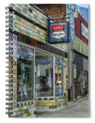 Route 66 Mercantile Cuba Mo Dsc05597 Spiral Notebook