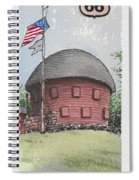 Route 66 Ok Spiral Notebook
