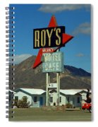 Route 66 - Roy's Of Amboy California 2 Spiral Notebook