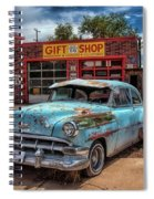 Route 66 Seligman Spiral Notebook